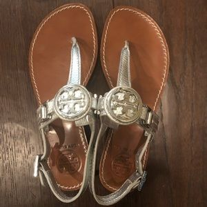 Tory Burch like new sandals